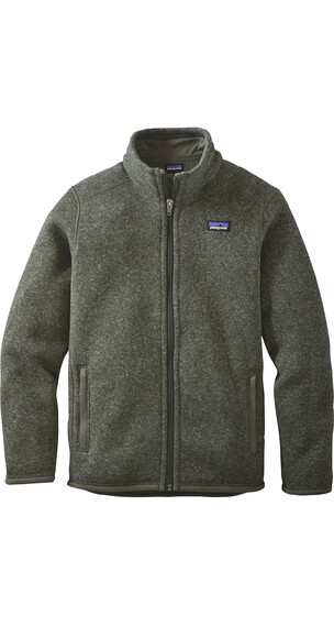 Patagonia Boys Better Sweater Jacket Industrial Green